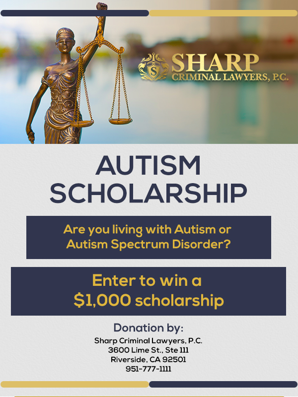 Autism Scholarship Flyer